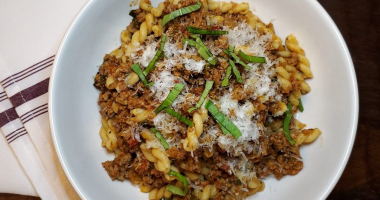 Lamb Ragù Pasta Recipe