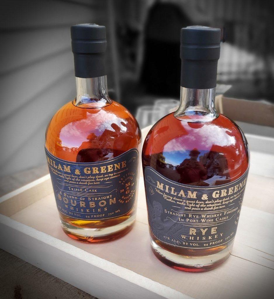Milam & Greene Whiskey Launch