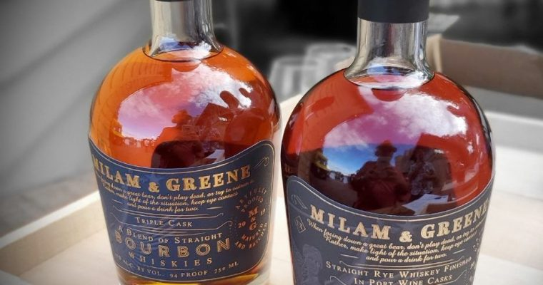 Milam & Greene Whiskey Launch
