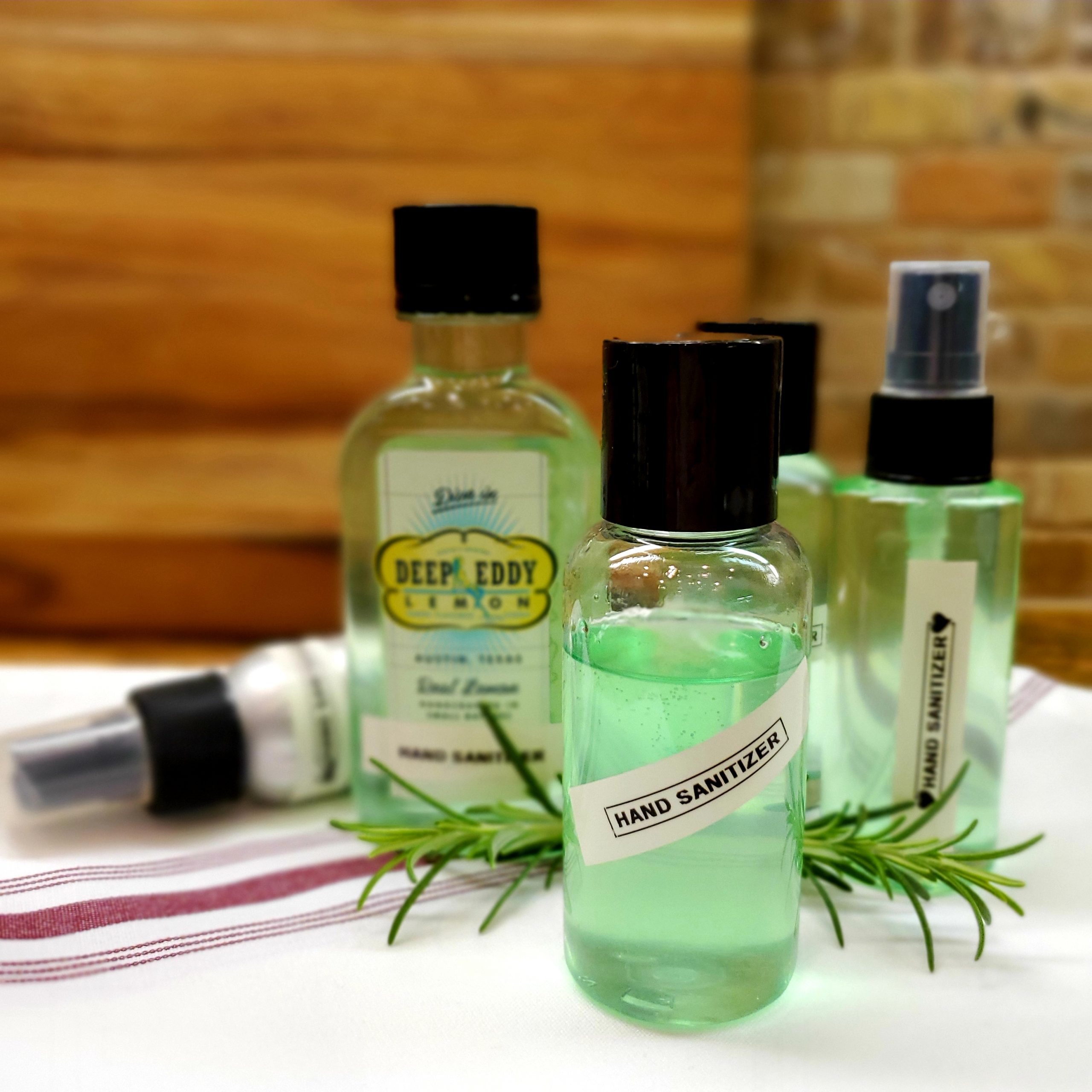 Make Hand Sanitizer @ Home