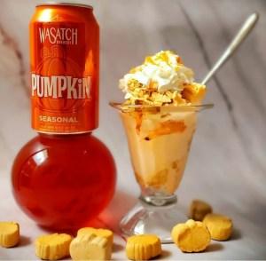 Pumpkin Pie Spice Ice Cream