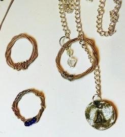DeeDeeDeesigns Guitar String Jewellery