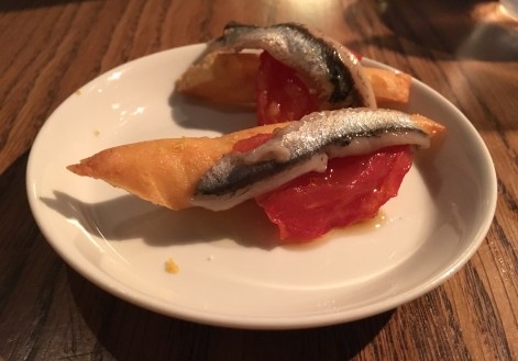 Anchovy panisse