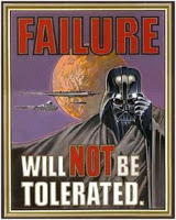 Failure Will Not Be Tolerated