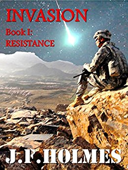 Book Cover: Invasion: Resistance by J.F. Holmes