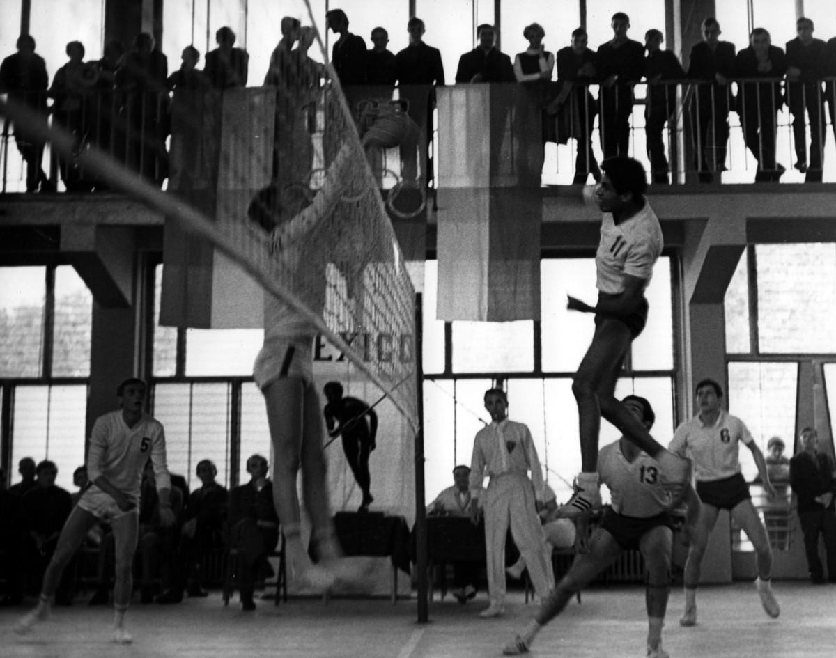 Historia wołomińskiej siatkówki - lata 1968-1988