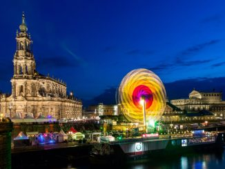 """Zum Stadtfest verwandelt sich Dresden in eine große Partylocation. Foto: """"Michael Schmidt / CANALETTO – Das Dresdner Stadtfest"""""""