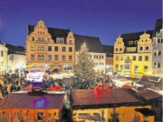 Der Meiß- ner Weihnachtsmarkt gilt als besonders familienfreundlich. Foto: Claudia Hübschmann