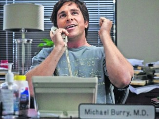 "Christian Bale spielt den echten Michael Burry in ""The Big Short"". Foto: Paramount Pictures"
