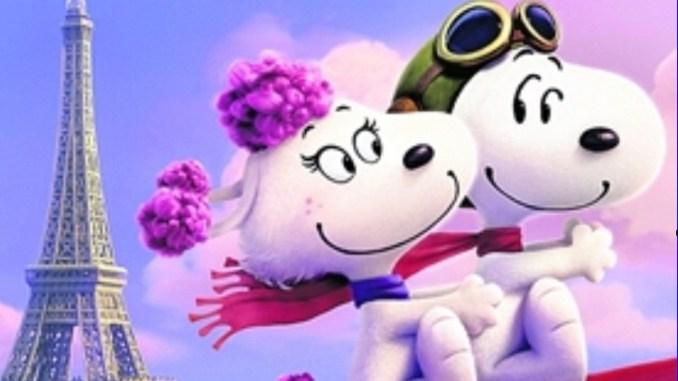 Snoopy ist ihr verfallen: der französischen Pudeldame Fifi. Foto: Twentieth Century Fox