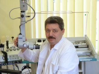 Dr. Yury Yarin, Facharzt für HNO und Allergologie führt die Studie durch. Foto: PR