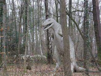 Auf eine spannende Spurensuche führt die Anlage in Kleinwelka in die Urzeit: zu den Dinosauriern. Foto: F. Sommer