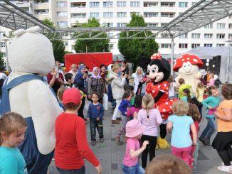 Das Prohliszentrum wird am 27. Mai zum Paradies für Kinder. Foto: PR