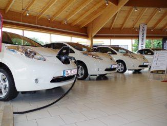 Neue Stromfahrzeugmodelle wurden vorgestellt. Foto: PR