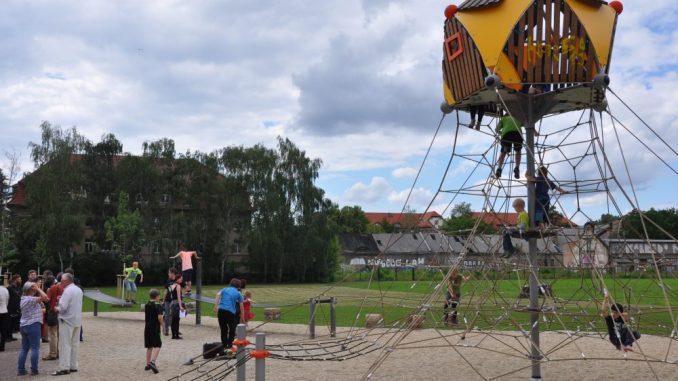 Erweiterung Alaunpark Foto: Una Giesecke