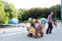 Ein beliebtes Ausflugsziel für Groß und Klein - der Saurierpark bei Bautzen. Foto: FOTOGRAFISCH - Juliane Mostertz