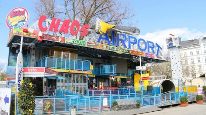Der Chaos Airport sorgt für Action. Foto: PR
