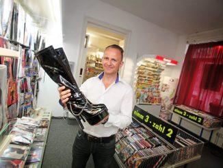 Dresdens ältester Sex-Shop wird von Ronny Frenzel betrieben. Foto: Amac Garbe