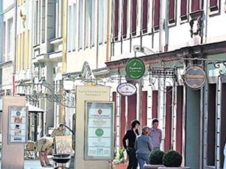 Wie hier auf der Hauptstraße in der Dresdner Neustadt bietet der Einzelhandel die besten Informationsmöglichkeiten und ein tolles Einkaufserlebnis. Foto: André Wirsig