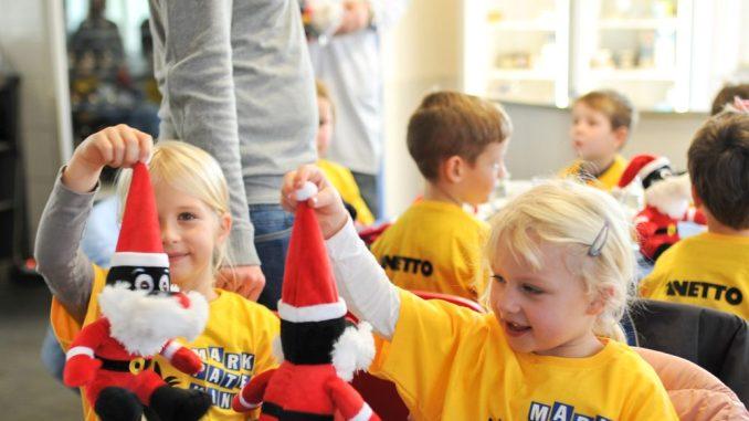 Die Marktpatenkinder erhalten auch in diesem Jahr Unterstützung von NETTO. Foto: NETTO/ Patenkinder Kita Schwalbennest aus Kritzmow