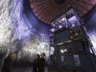 """Das Asisi Panometer """"Dresden 1945"""" erfreut sich großer Beliebtheit. Foto: Tom Schulze"""