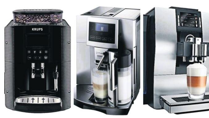 Krups, DeLonghi und Jura: Von jedem Hersteller hat sich DAWO! einen Kaffeevollautomaten genauer angesehen. Fotos: PR