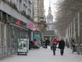 Die Hauptstraße hat mit weniger Besuchern zu kämpfen. Foto: Steffen Füssel