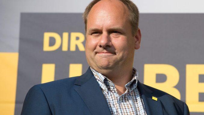 Dirk Hilbert. Foto: Sebastian Kahnert/Archiv