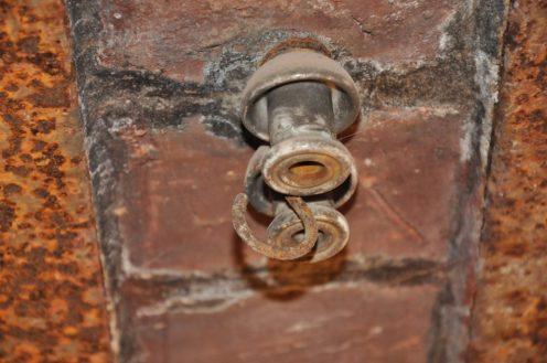 Gleichstromleitung an der Decke Foto: Una Giesecke