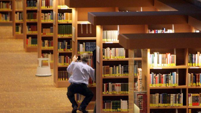 Die Sächsische Landesbibliothek ist zu sehen. Foto: Matthias Hiekel/Archiv