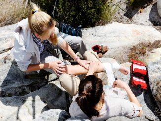 Unfälle bei Aktivitäten Outdoor – das geht manchmal schneller als man denken kann. Foto: PR