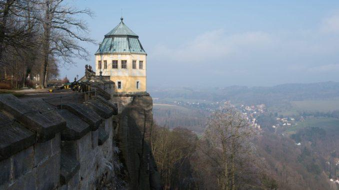 Das Lustschloss Friedrichsburg auf der Festung Königstein. Foto: Sebastian Kahnert/Archiv