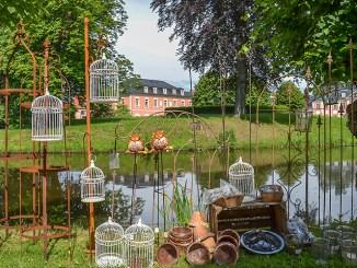 Der Schlosspark Großharthau: Schauplatz für die LebensArt. Foto: PR