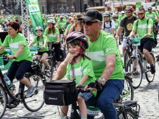 SZ-Fahrradfest der Sächsischen Zeitung ist jedes Jahr ein Vergnügen für die ganze Familie Foto: Michael Schmidt
