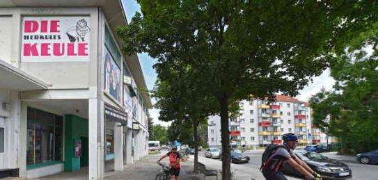 """Die """"Keule"""" am Sternplatz steht nun leer. Foto: Holm Helis"""