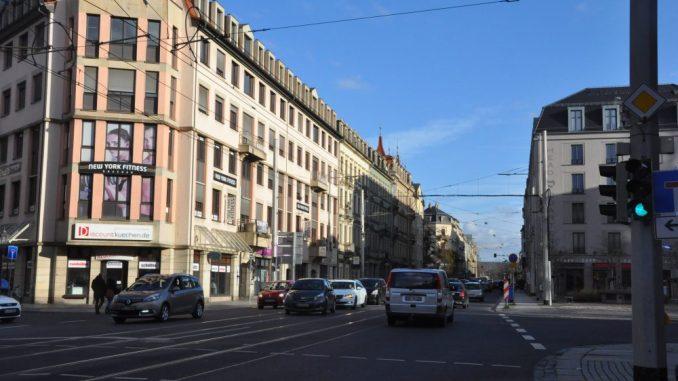Tempo 30 auf der Bautzner Straße - das sieht der aktuelle Entwurf zum Luftreinhalteplan für Dresden vor. Foto: Una Giesecke