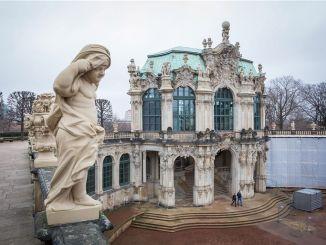 Innenhof Dresden Zwinger