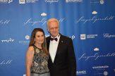 CSU-Politiker Peter Ramsauer mit Ehefrau.