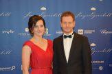 Sachsens Ministerpräsident Michael Kretschmer und Lebensgefährtin Annett Hofmann.