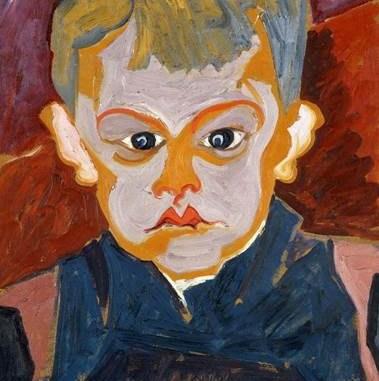 Carl Lohse, Junge (Blauer Junge, 1919/21. Jd.), SKD, Staatliche Kunstsammlungen (Foto: VG Bild-Kunst)