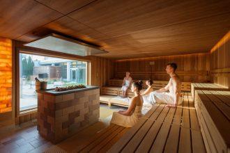 Best Western Plus, Heilbad Heiligenstadt: Die Parnoramasauna des Hotels sorgt für entspannte Stunden. Fotos: PR