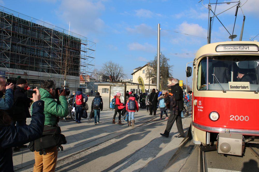 Schulcampus Tolkewitz Tatra-Zug_Foto Landeshauptstadt Dresden