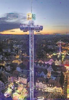 City Skyliner bei Stadtfest