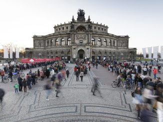 Semperoper Dresden bei der 7. Langen Nacht der Dresdner Theater