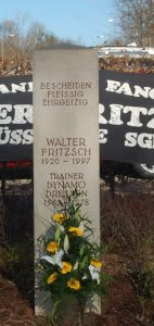 Der Walter-Fritzsch-Gedenkstein Foto: E. Garten