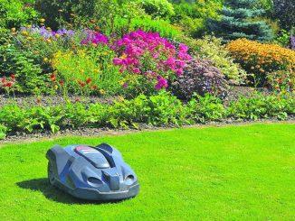 Sorgt für weniger Arbeit und Dank des Mulchprinzips für gesündere und schönere Rasenflächen: ein Rasen-Roboter.