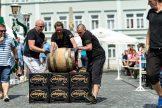 Die Männer können vier Tickets für das Scooter-Konzert bei den Filmnächten am Elbufer in Dresden gewinnen!