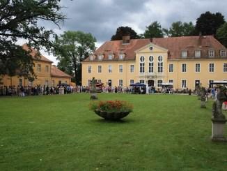 Das Barochschloss Oberlichtenau lädt zum Schlendern und Verweilen ein. Foto: PR