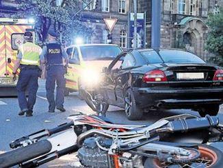 Verkehrsunfälle mit Beteiligung von Zweirädern enden auch in Dresden meistens mit Schwerverletzten. Foto: Roland Halkasch