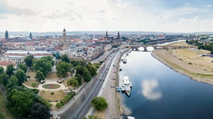 Dresden von oben: Ein Genuss mit dem Skyliner. Foto: PR